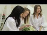 Утренние сборы нашей нежной невесты Ларисы и ее подружек!