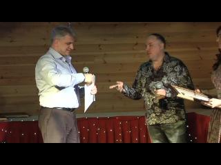 Выступление поэта Анатолия Жукова на Номинации AURUM 2014