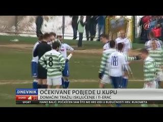Hrvatski nog. kup - 1/4-finale (prve utakmice), izvješće, 11.02.2015. HD