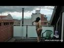 Hotkinkyjo соло вагинальный анальный фитсинг сквирт кончает на улице девушка в чулках порно в сексуальном нижнем белье на свежем