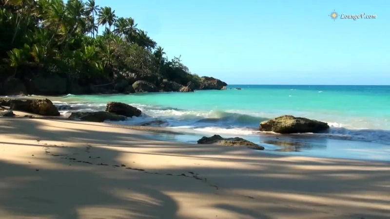 красивое релакс-видео о Карибских островах (Caribbean Paradise 2015) Шум волн, шум моря, шум океана, звуки природы (Relax Video)