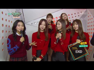 EXID - Interview @ Music Bank 150109