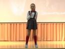 Оля Карстина.10 лет.Школа эстрадного пения Ветер переменг.Ростов-на-Дону