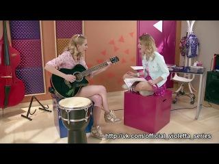 Momento Musical Violetta y Ludmila cantan Si Es Por Amor Violetta