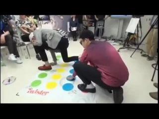Block B playing Twister [Zico vs P.O]