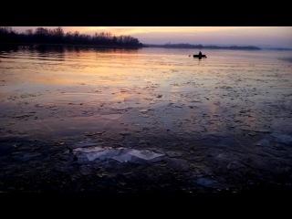 Волга на закате 2