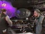 WWF SmackDown! - 08.03.2001 - Мировой Рестлинг на канале СТС - Стефани и Игрок против Гробовщика