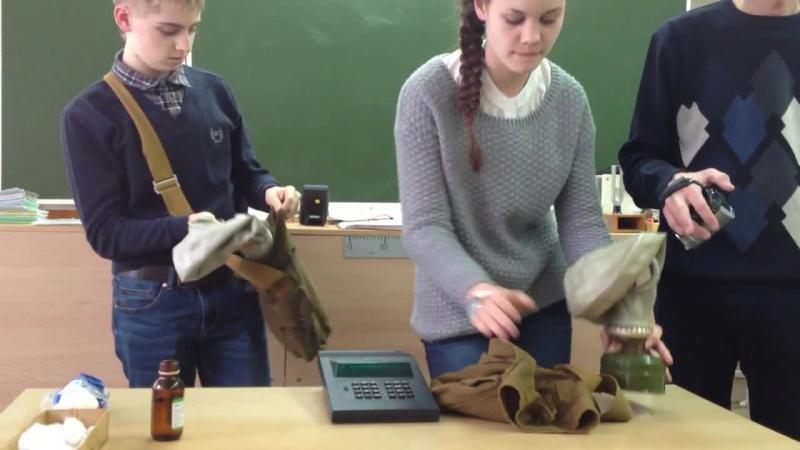 Часть 2 Урок ОБЖ Одеваем противогаз