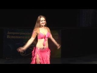 Myschenko Alexandra. Tabla. Ukrainian festival of Oriental dance 14/12/14. Dnepropetrovsk