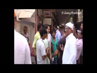 Tiger Shroff at Late Mr. Madan Mohan's prayer meet - Тайгер Шрофф