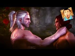 Секс момент в игре The witcher 2 (Ведьмак 2) 16.mp4