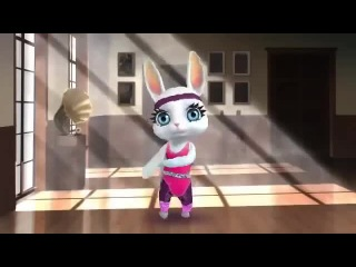 Zoobe Зайка - Я такая деловая =)Очень смешное видео,смех,крик,орево,тупо крик.