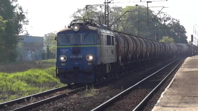 EU07-1509 Poznan Krzesiny linia 272