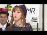 [RUS SUB] 141125 Idol School ep.14 - MRMR, MADTOWN, MINX