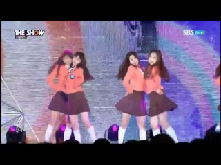 [PERF] 301214 Lovelyz (러블리즈) - Candy Jelly Love @ SBS MTV THE SHOW