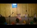 Выступление младшей дочки на концерте посвященного День матери