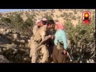 Бойцы отряда Силы Защиты Шангала (HPŞ) после успешной операции против террористической группы