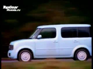 Top Gear по русски. Ниссан КУб