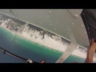 GoPro Navarre beach helicopter jump (Dimash93-CR9@mail.ru)