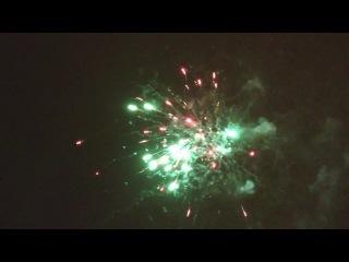 С Новым годом, Омск! Салют 2015.