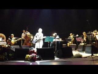 На концерте у Светланы Сургановой!)