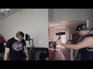 Motionless In White 'Reincarnate' Dual Vocal Cover (Jared Dines and Austin Dicke
