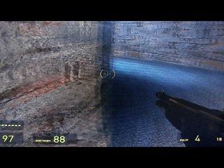 HL2 прохождение Окроева часть 38 . В ангаре или в подвале .