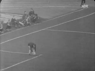 SV Hamburgo 3x3 Santos 20 10 1962 - Estádio Municipal de Hamburgo (jogo completo)