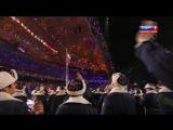 02.Выход Сборной России! XXII Зимние Олимпийские Игры 2014 в Сочи  Церемония открытия