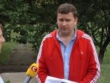 Как Андрей попал на восток Украины (его интервью для СТБ - полная версия)