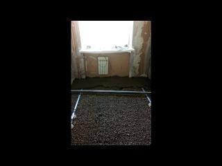 «самый простой и бюджетный черновой пол» под музыку Clean  Picrolla