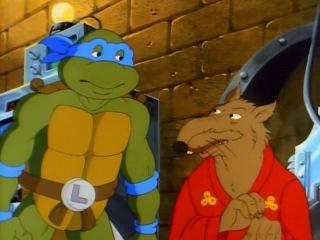 Черепашки Мутанты Ниндзя (1987). Сезон 4, серия 45. Приключения в Измерении Икс (The Dimension X Story)