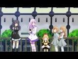 Игровое гиперпространство Нептунии 6 серия  [Озвучка KiranoTea] / Choujigen Game Neptune The Animation 06 [vk]