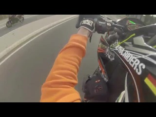 KTM 640 LC4 -- Wheelie Fail -- Alpha Riders