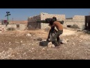 Сирия. Попадание боевиков в борт танка Т-72 САА из ПТРК BGM-71 «Тоw».