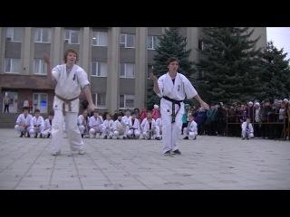Выступление 24.10. площадь мэрии г.Черкесска