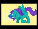 моя первая анимация пони (в пони креаторе )