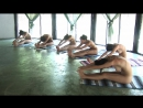 Muriel, Anna S, Brigi, Melissa, Suzie Carina and Suzie - Nude Yoga Class
