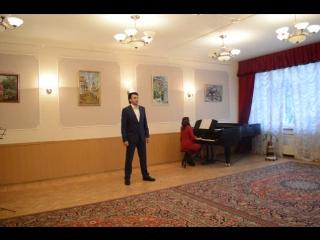 Э. Капуа O sole mio Исполняет Александр Лесин Айшат Алиева (фортепиано)