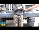 Украинские войска вырвавшиеся из котла