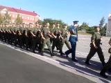 торжественный марш после принятия присяги))))