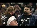 WWF SmackDown! - 10.08.2000 - Мировой Рестлинг на канале СТС - Игрок, Стефани и Курт Энгл