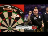 Gary Anderson v Peter Wright (2015 Premier League Darts Week 2)