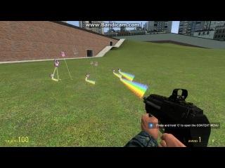 Новый Addon в Garry's Mod Nyan Gun