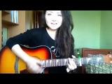 красивая девушка классно поет,красивый голос,круто спела,шикарный голос,мило спела,кавер,cover,IOWA - Маршрутка