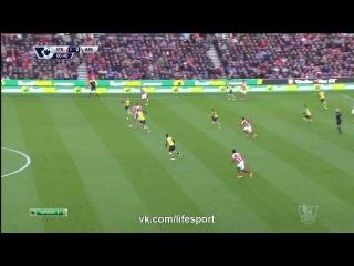 Сток Сити 1 0 Арсенал Гол Крауча
