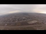 Бугры и окрестности. Взгляд с высоты 700 метров.
