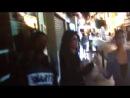 Bailando por las calles de Sevilla con mamá y Xime!!