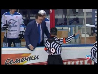 Назаров удален до конца за бросок бутылки в Свитова - Nazarov sent off for Svitovs incident ( полная )