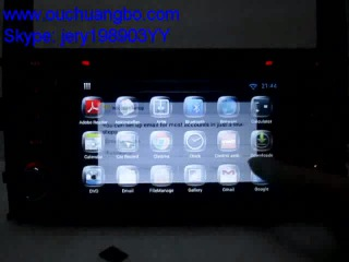 Ouchuangbo PAJERO V97 V93 2006 2011 audio gps radio pure android 4 2 system